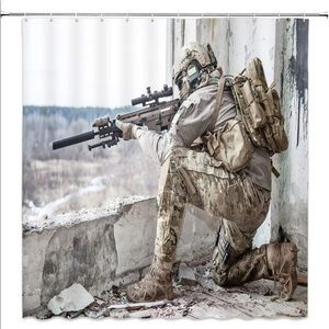 Other - Soldier America Freedom Shower Curtain
